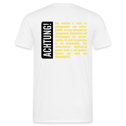 fingerpoken - Männer T-Shirt