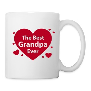 the best grandpa ever - Tasse