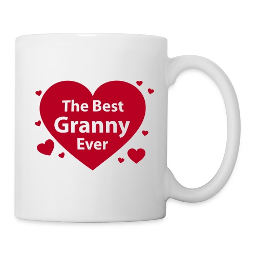 the best granny ever - Tasse