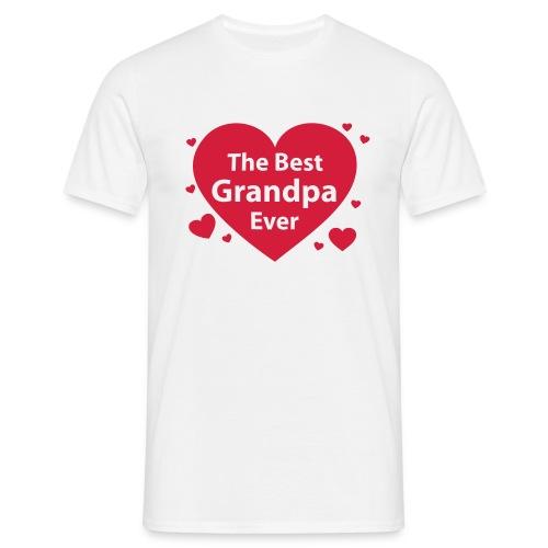 the best grandpa ever - Männer T-Shirt