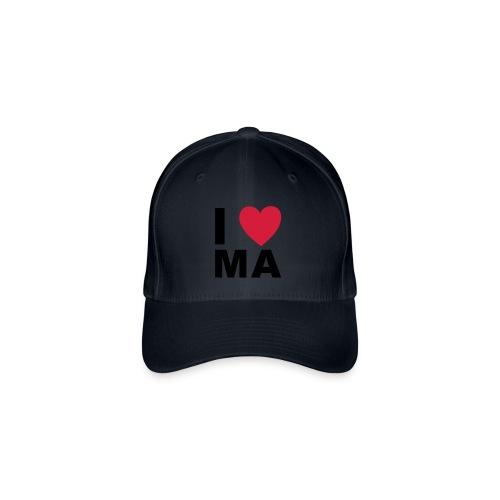 I love MA - Flexfit Baseballkappe