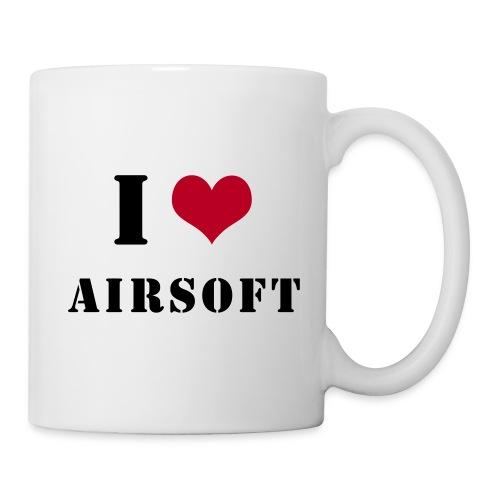 I Love Airsoft - Mug blanc