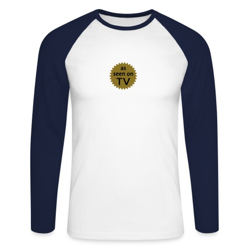as seen on tv - Men's Long Sleeve Baseball T-Shirt