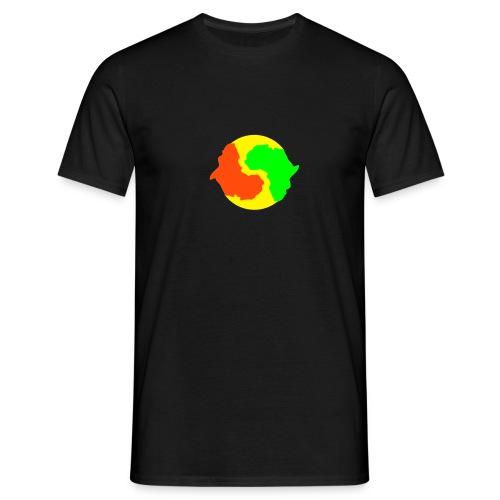 Africa Yin & Yang - Men's T-Shirt