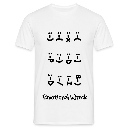 SadfaceHappyface - Men's T-Shirt