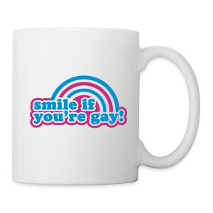 Tasse smile if you are gay - Tasse