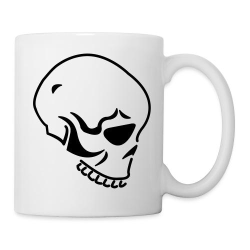 Tasse crâne - Mug blanc