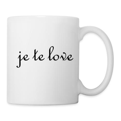 Tasse je te love - Mug blanc
