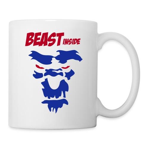 Tasse beast inside - Mug blanc