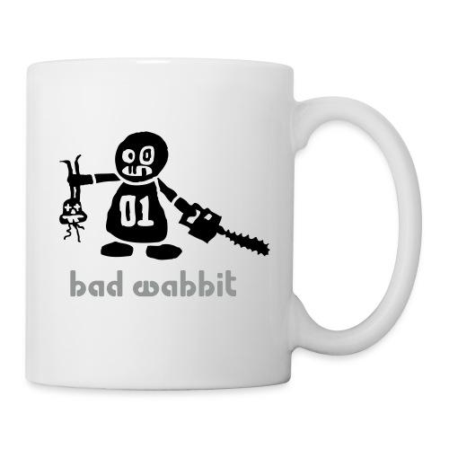 Tasse bad wabbit - Mug blanc