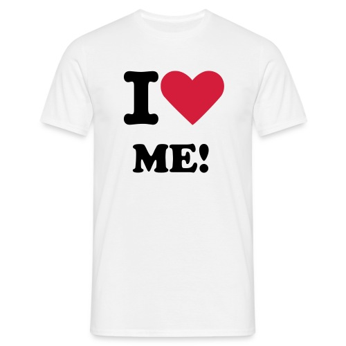 I LOVE ME! - Men's T-Shirt