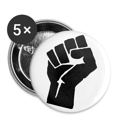 Poing de la Résistance - Badge petit 25 mm
