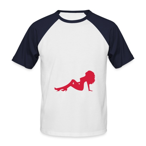 Jaja, das ist mal wieder typisch!!! - Männer Baseball-T-Shirt
