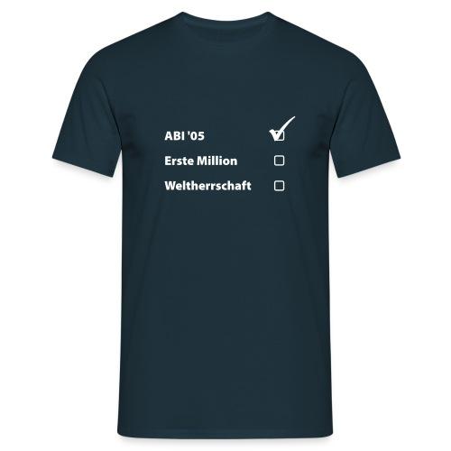 ABI_2005 - Männer T-Shirt