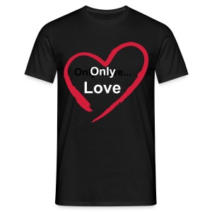 Only Love 003 - T-shirt Homme