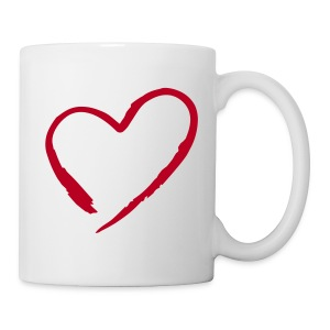 Tasse Single in Love 001 - Mug blanc