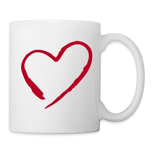 Tasse Single in Love 001 - Mug blanc