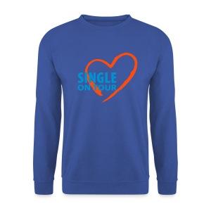 Sweet-Shirt HommeSingle in Love 004 - Sweat-shirt Homme