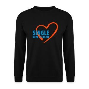Sweet-Shirt HommeSingle in Love 005 - Sweat-shirt Homme