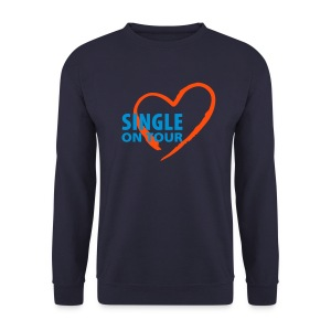Sweet-Shirt HommeSingle in Love 006 - Sweat-shirt Homme