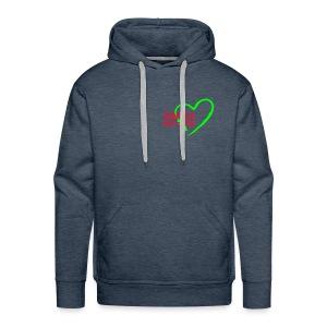 Sweet-Shirt à  capuche Homme Single in Love 002 - Sweat-shirt à capuche Premium pour hommes