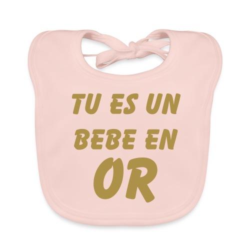 GOLD BABY - Bavoir bio Bébé