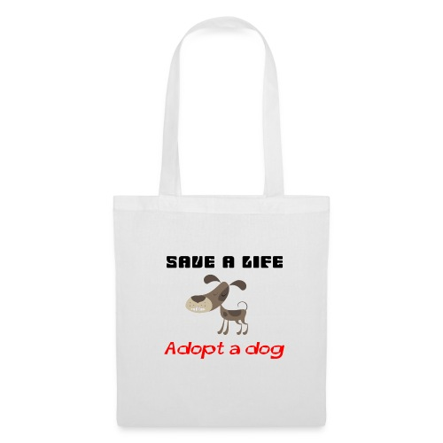 Adopt a dog bag - Tote Bag