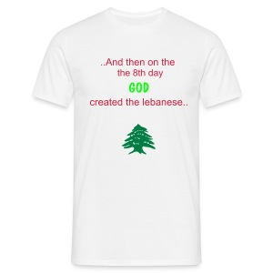 LEBANESE LEBANON - Men's T-Shirt