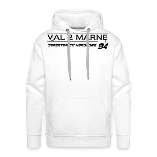 V2M3 - Sweat-shirt à capuche Premium pour hommes