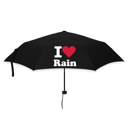 I *heart* Rain Umbrella - Umbrella (small)