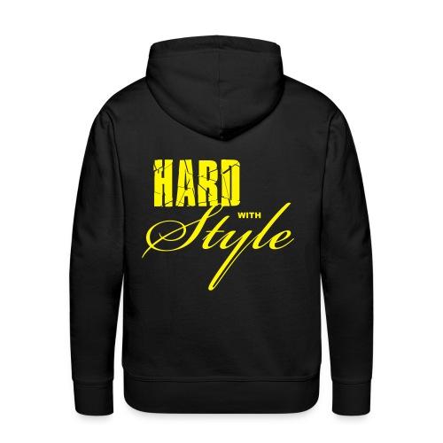 Cermonoid - Hardstyle Raver | Herre Hættetrøje - Herre Premium hættetrøje
