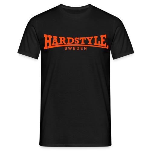 Hardstyle Sweden - Neonorange - Flera tröjfärger - T-shirt herr