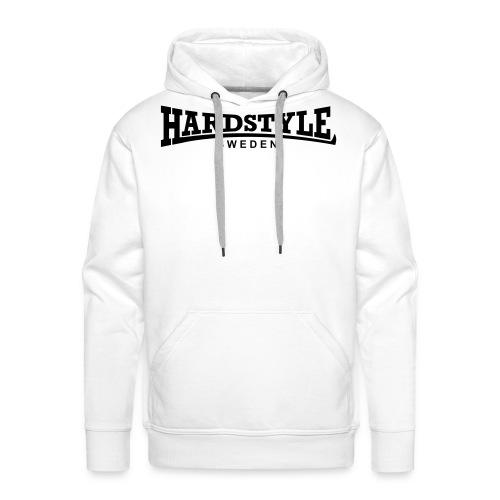 Hardstyle Sweden - Svart tryck - Flera tröjfärger - Premiumluvtröja herr