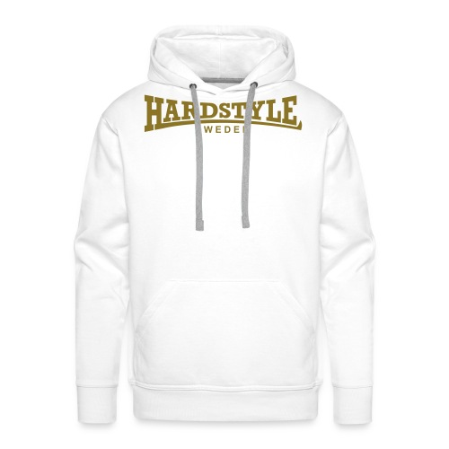 Hardstyle Sweden - Guldtryck - Flera tröjfärger - Premiumluvtröja herr
