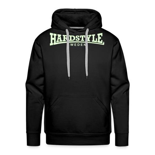 Hardstyle Sweden - Självlysande - Flera tröjfärger - Premiumluvtröja herr