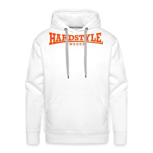 Hardstyle Sweden - Neonorange - Flera tröjfärger - Premiumluvtröja herr