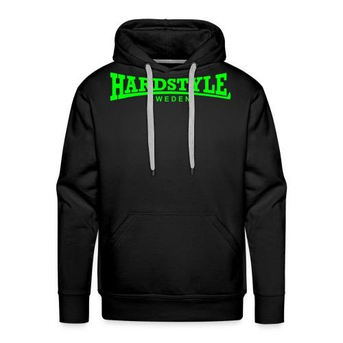 Hardstyle Sweden - Neongrön - Flera tröjfärger - Premiumluvtröja herr
