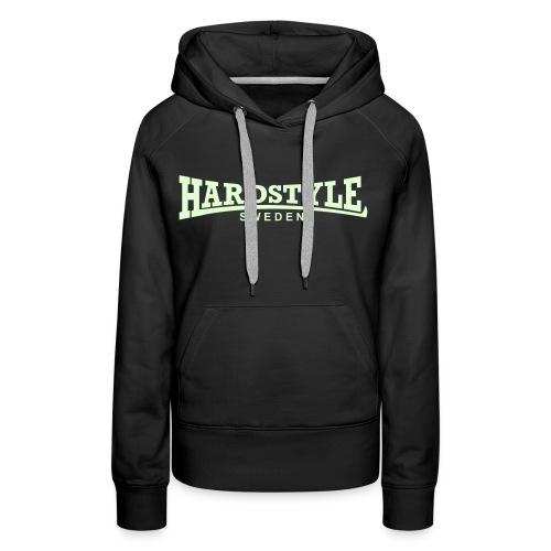 Hardstyle Sweden -  Självlysande - Flera tröjfärger - Premiumluvtröja dam