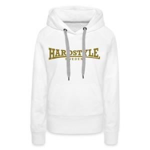 Hardstyle Sweden -  Guldtryck - Flera tröjfärger - Premiumluvtröja dam