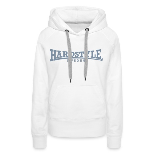 Hardstyle Sweden -  Silvertryck - Flera tröjfärger - Premiumluvtröja dam