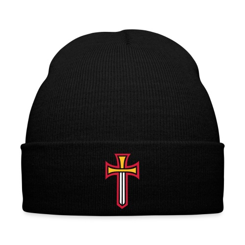 Black Winter Hat with Logo - Winter Hat