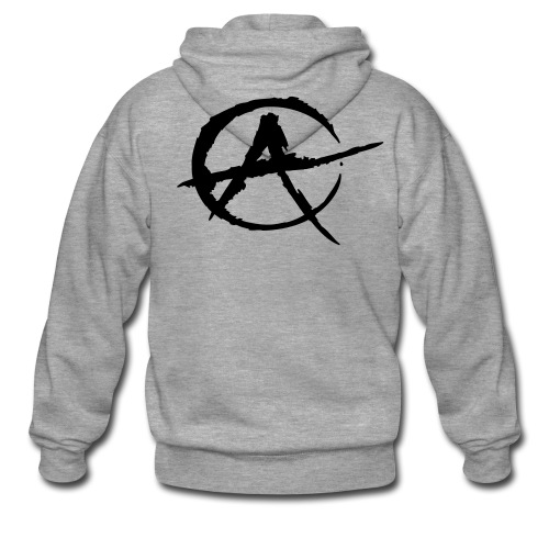 punk jacket - Men's Premium Hooded Jacket