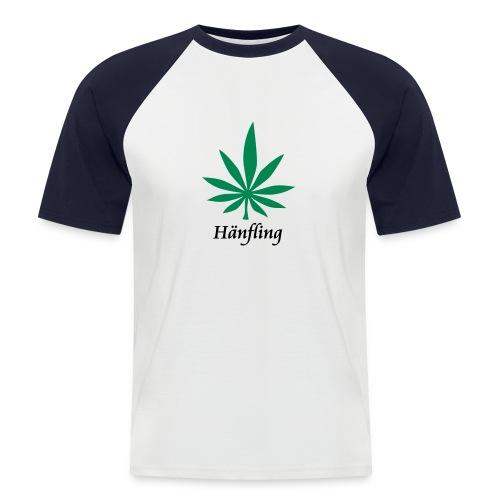 Hänfling! - Männer Baseball-T-Shirt