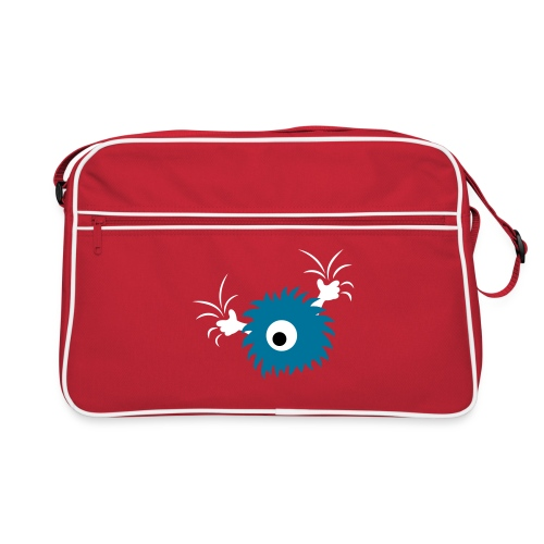 monster RETRO bag - Retro Tasche