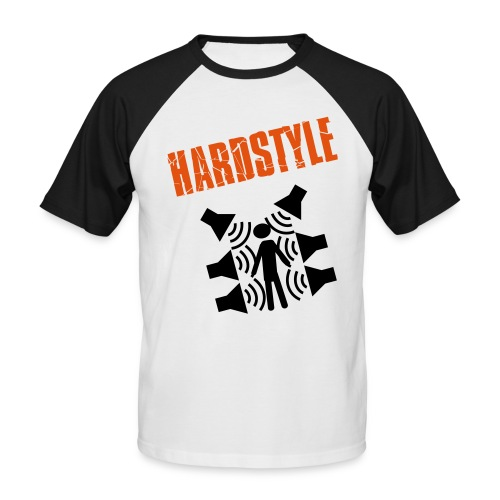 Hardstyle - Männer Baseball-T-Shirt