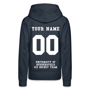 Ladies Classic Pull Over Hoodie - ADD YOUR NAME & NUMBER!! - Women's Premium Hoodie