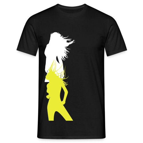 music girl. - T-shirt herr