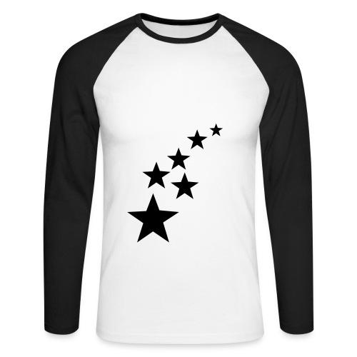 pokerstars - Mannen baseballshirt lange mouw
