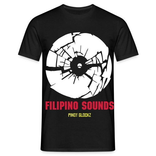 Filipino Sounds V1 - T-skjorte for menn