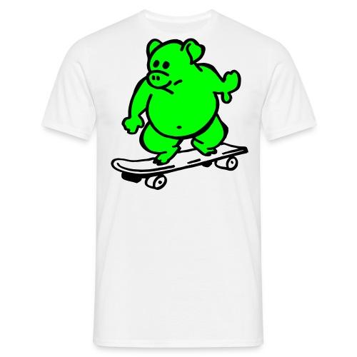 lässiges T-shirt i - Männer T-Shirt